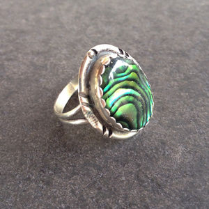 Vintage Southwest Sterling Ring